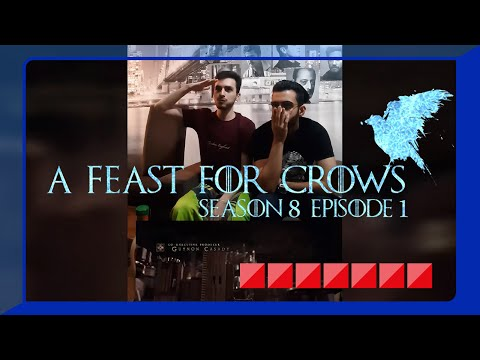 A feast for Crows // Game of Thrones S08E01 reactions (Kings Landing)