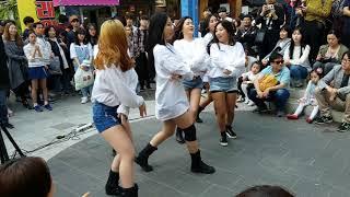 180429 #댄스팀 UA 12 - What is Love @홍대Busking[직캠,Fancam] by shinlim