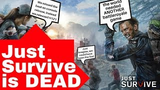 Just Survive is dead - H1Z1 - DayBreak games