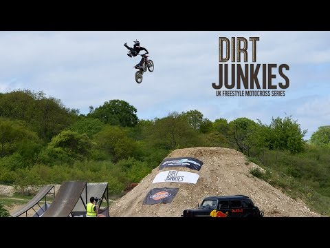 Dirt Junkies 2015 | UK Amateur FMX Contest R1