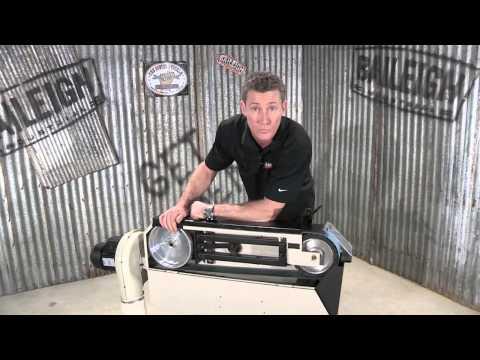 Baileigh Industrial BG-379 Belt Grinder Abrasive Grinding Machine Metal