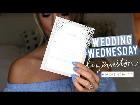 WEDDING INVITATIONS! | Wedding Wednesday - Episode 11