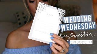 WEDDING INVITATIONS! | Wedding Wednesday - Episode 11 | MeganandLiz