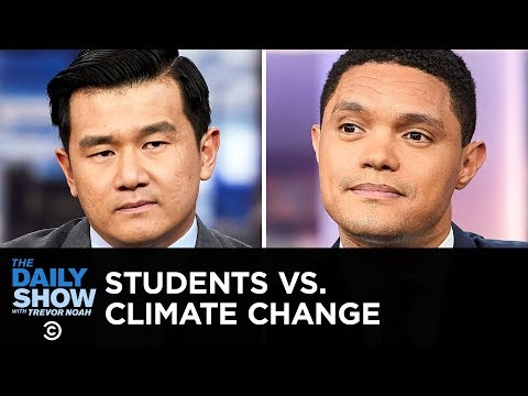 Students vs. Climate Change & Oil Companies vs. Oceans   The Daily Show