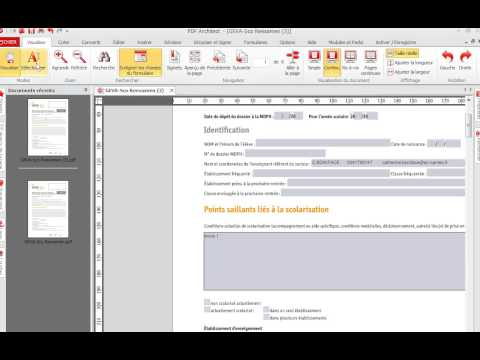 Modifier un doc PDF avec PDF architect