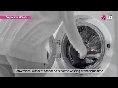 LG TWINWash™ Washing Machine USP Film (Global ver.)