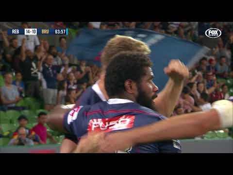 HIGHLIGHTS: 2018 Super Rugby Week 4 Rebels v Brumbies
