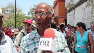 En condiciones precarias, ancianos reciben subsidios en Cartagena