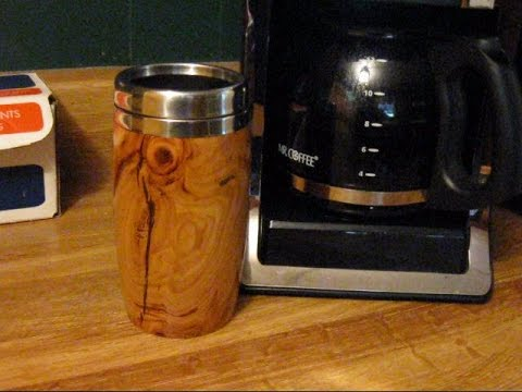 Woodturning Travel Mug