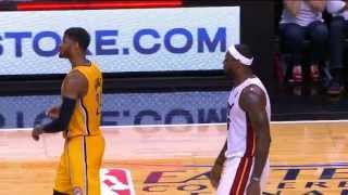 Paul George/ LeBron James Incredible Playoff Moment From All Angles