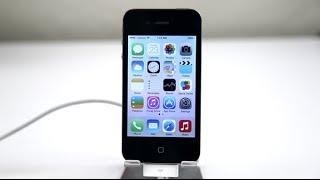 видео iOS 7.1.1  Экспресс обзор. Тормозит или нет iOS 7.1.1 на iPhone 4 ?