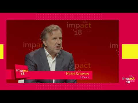 Fireside Chat: Michał Sołowow from 3DGence at Impact'18 in Krakow