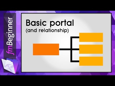 FileMaker Beginner Tutorial - Portal Relationship From Scratch in 12 min