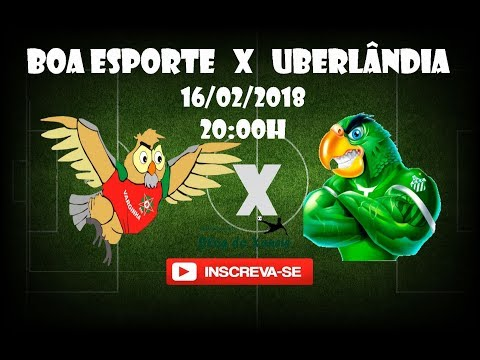Boa Esporte x Uberlândia ao vivo 2018 (narração)