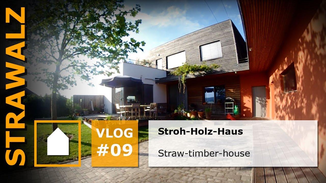 Exceptional Strawalz Stroh Holz Haus   EN Subtitel