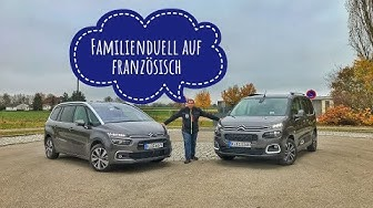 Citroën Berlingo gegen Citroën Grand C4 Spacetourer | Das Brüderduell für Familienväter