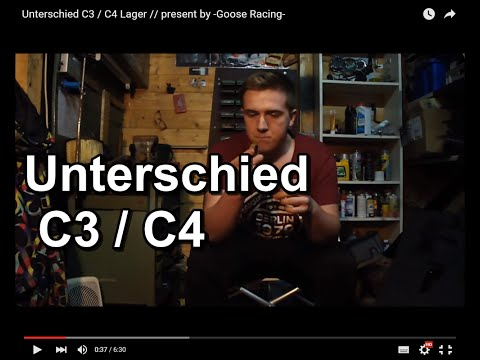 Unterschied C3 / C4 Lager // Present By -Goose Racing-