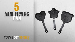 Top 10 Mini Frying Pan [2018]: Okay Mini Fry Pan Set, 3-Pieces, Black