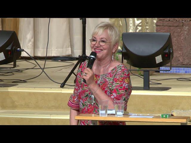 20 Juli 2019 Kvällsmöte med Linda Bergling under Mirakelkonferensen 2019