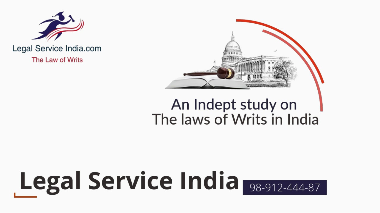 Types of Writs In Indian Constitution