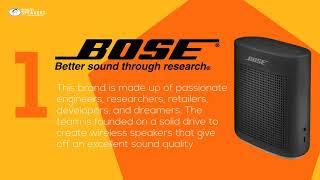 Top 5 Most Popular Wireless Speaker Brands