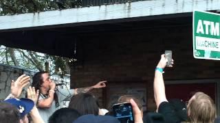 Trash Talk - SXSW 2014 - Beerland patio/Red River Ave, Austin, Mar. 14