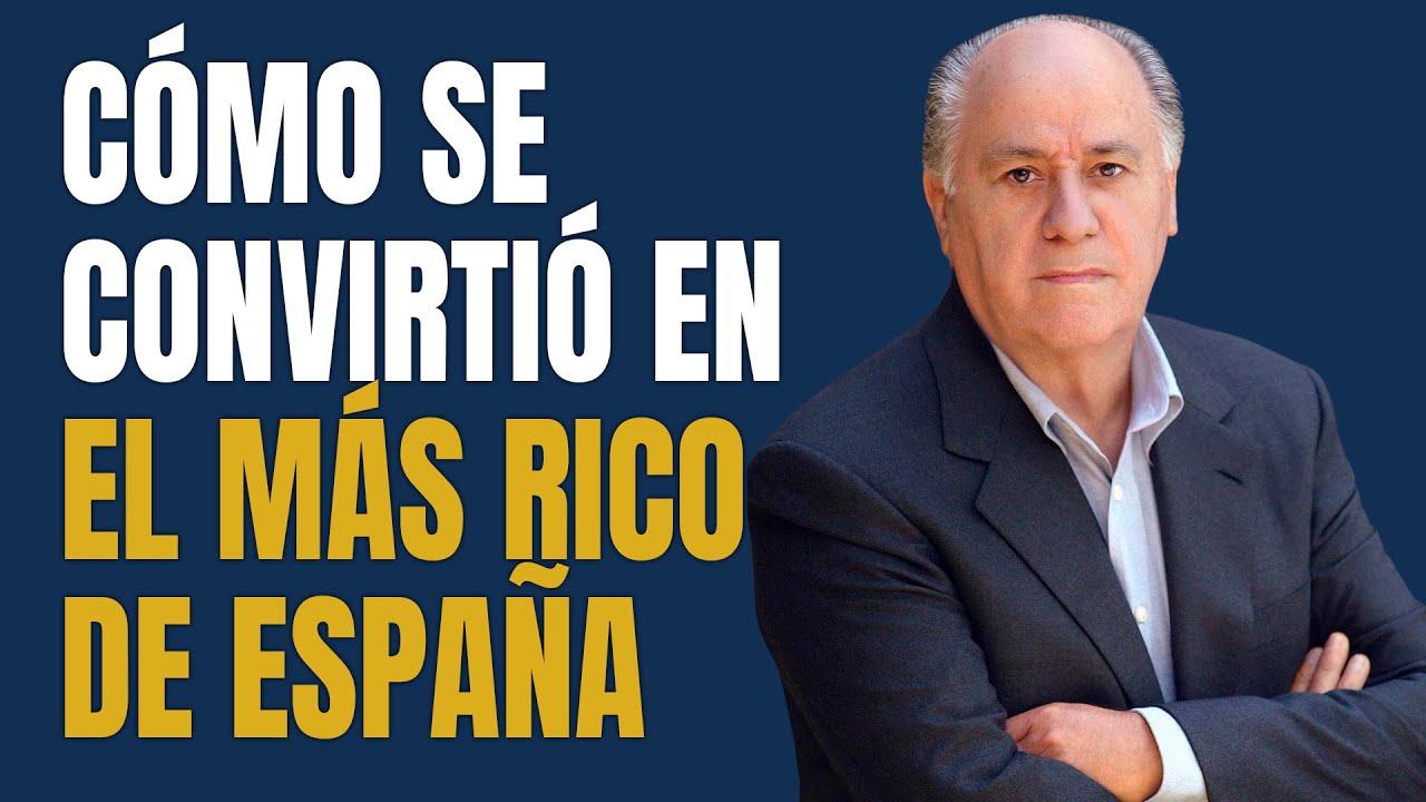 De Repartidor de Camisas a Empresario Multimillonario | Amancio Ortega 💰