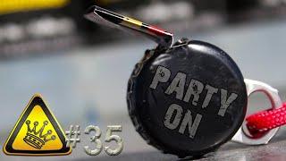 QC#35 - Bottle Cap Party Whistle