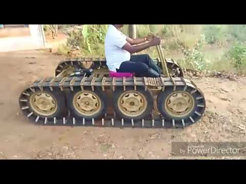 Homemade off-road vehicle (made in india) -part 1