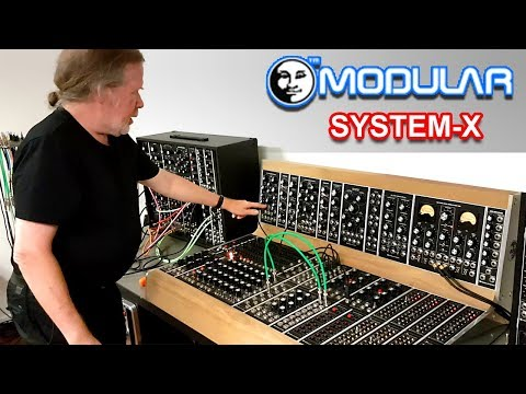 interview demo of moon modular 39 s system x modular synth synthesizers. Black Bedroom Furniture Sets. Home Design Ideas
