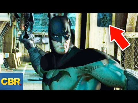 10 Awesome Video Game Easter Eggs Not Discovered For Years (Batman, GTA, Halo3, and More)