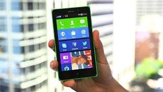 Обзор Nokia XL на изуродованном Android