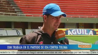 Independiente Medellín trabaja en el partido de ida contra Tolima  [Noticia] - Telemedellín