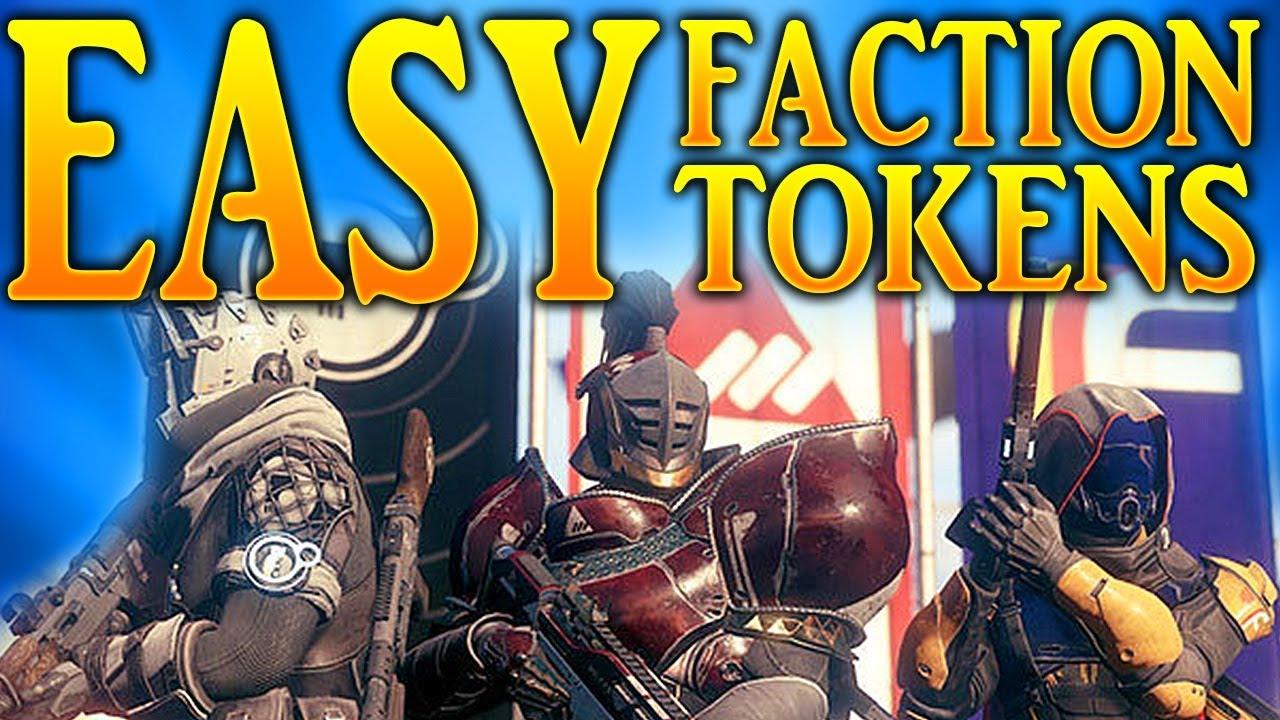 how to get tokens fast destiny 2
