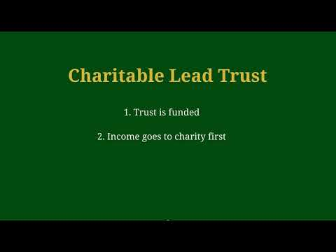 Understanding Charitable Lead Trusts
