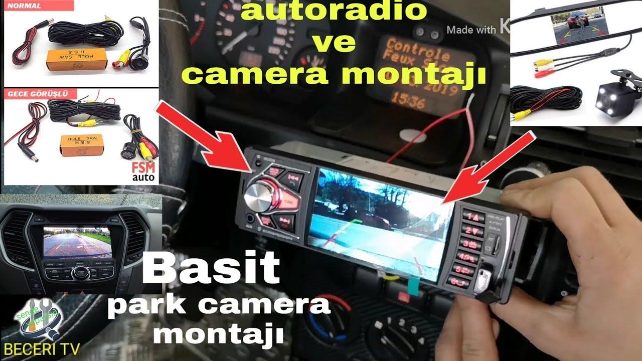 A101 den aldığımız dikiz aynası tipinde araç kamerası montajı videosu