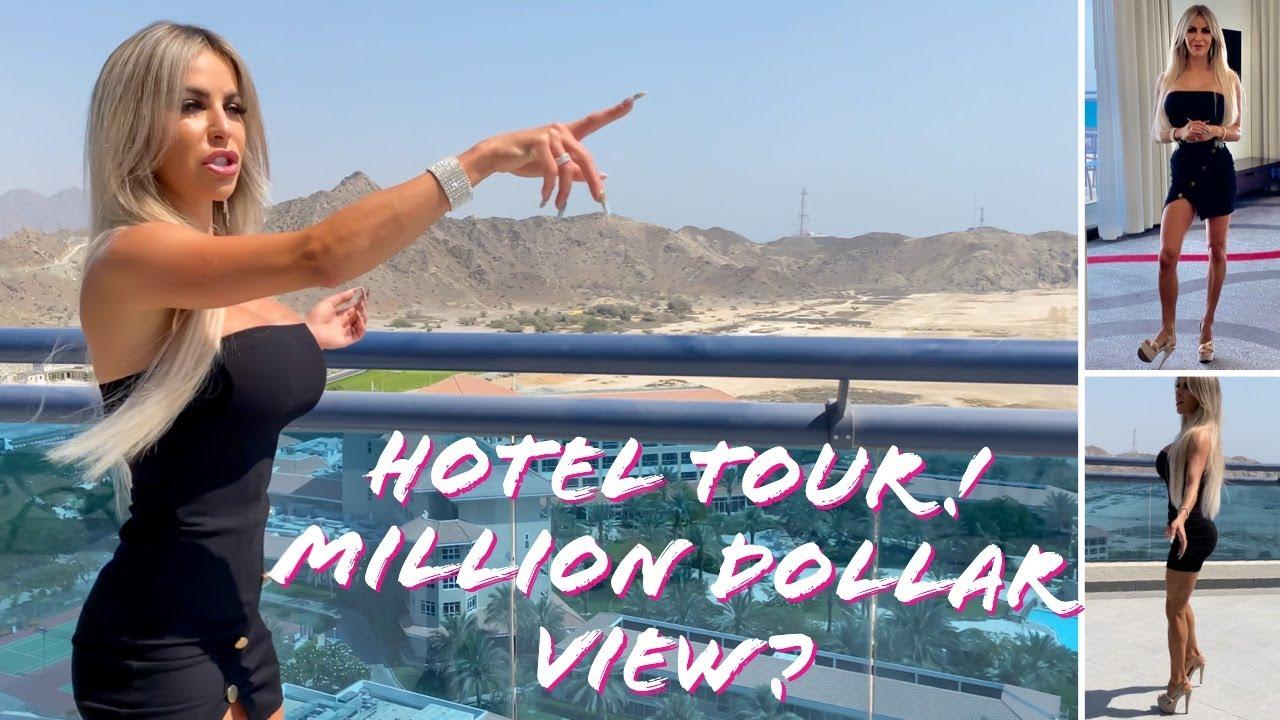 Little Black Dress and High Heels Hotel Tour! Le Meridien Al Aqah Beach  - Fujairah Dubai U.A.E  