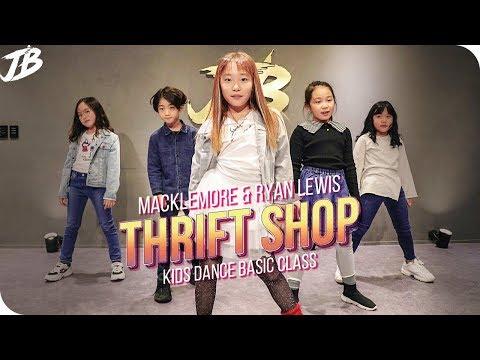 [Kids Dance Basic Choreography]  MACKLEMORE & RYAN LEWIS - THRIFT SHOP FEAT. WANZ / JB Kids Dance