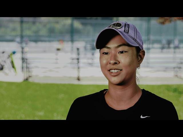 Sara Ruth Choy: 2018  Bill Talbert Junior Sportsmanship Award  - Buy American