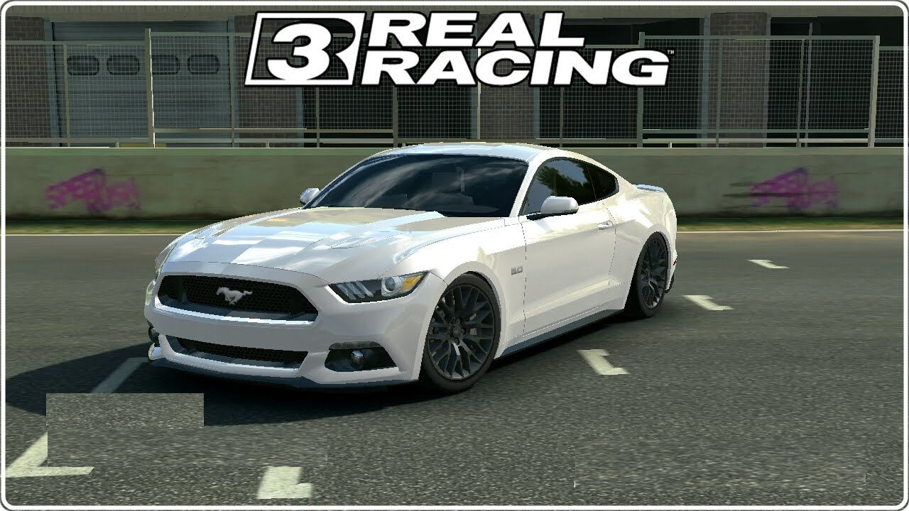Real racing 3 ford mustang gt premium auto car gameplay hd