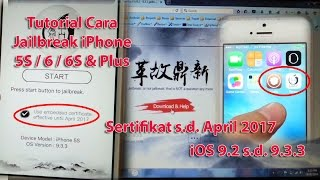 Cara Jailbreak iPhone 5S iOS 9.3.3