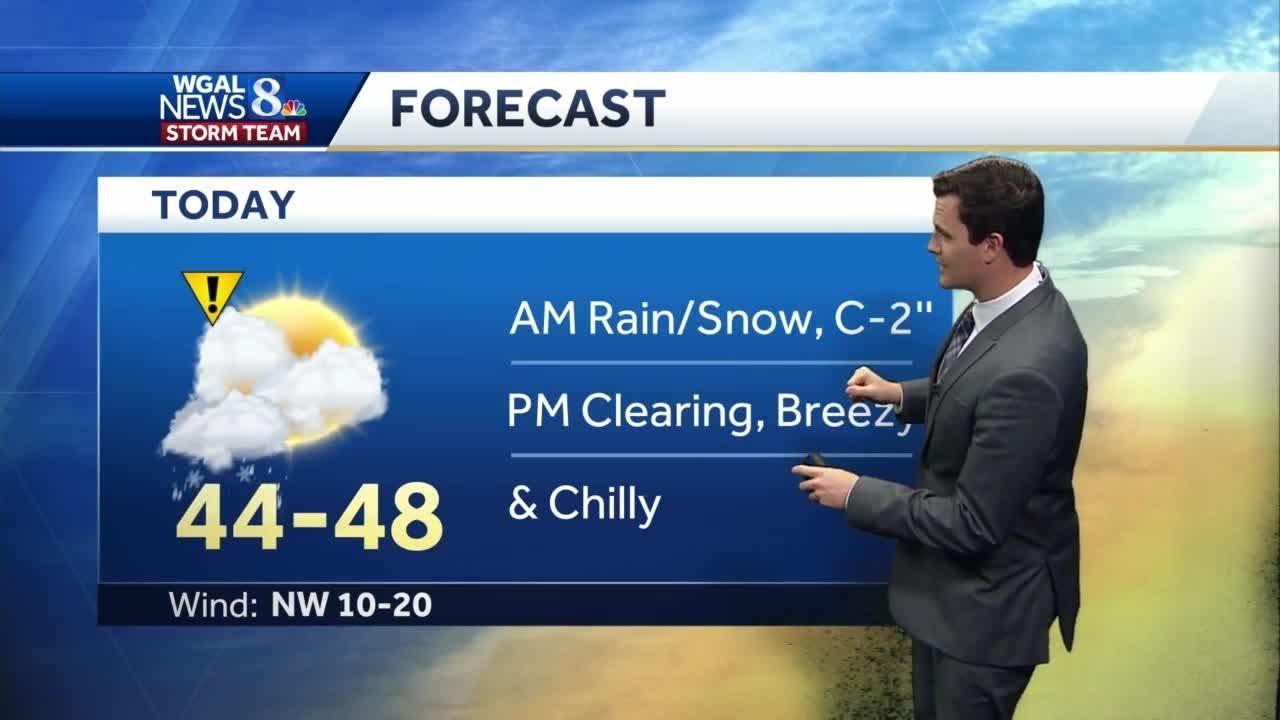wgal 7 day forecast