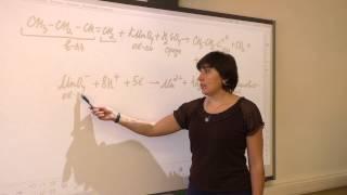 Уравнивание органических реакций (ОВР) методом электронно-ионного баланса. ОВР, часть 4 из 4.