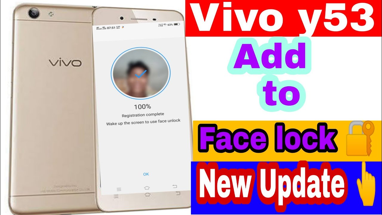 17 46 MB) How to add vivo y53 face lock on screen New update