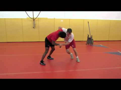 Chris Prickett Technique Session: Underhook Defense - Inverted Double Leg Finish