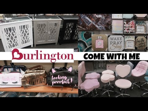 BURLINGTON SHOPPING** HOME DECOR & MORE / SHOP WITH  ME