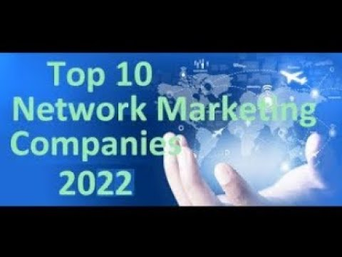 The top 10 network marketing companies 2021