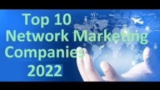 The top 10 network marketing companies 2019