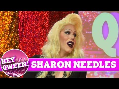 Sharon Needles on Hey Qween Season 4 Premiere with Jonny McGovern!!!