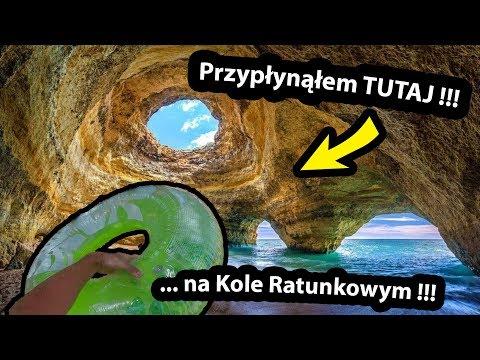 Płynę do Jaskini z Kołem Ratunkowym !!! - Jak Tam JEST ??? / Benagil w Portugalii (Vlog #312)